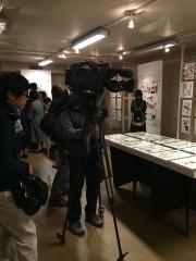 NHKや民放、そして各新聞メディアからの取材を受けました